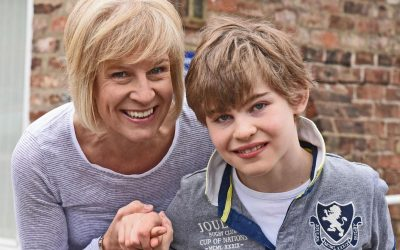 Standing tall: The York schoolboy they said would never walk