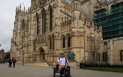 John 'Daft Lad on a Trike'