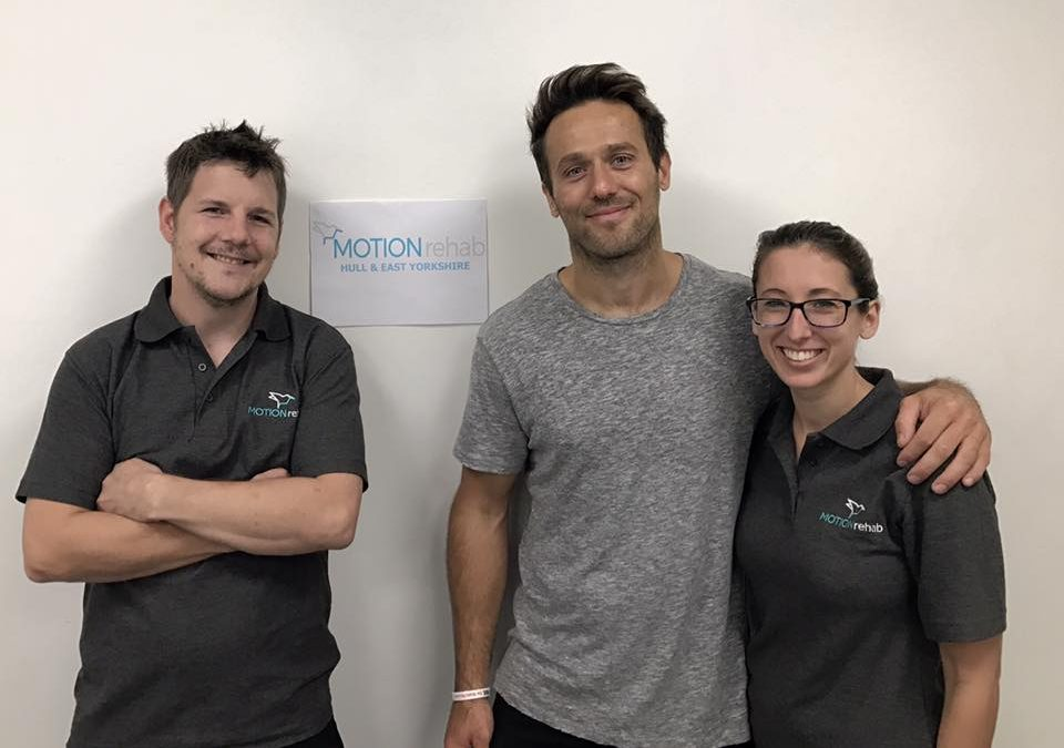 Paul Spence from PAUL For Brain Recovery Visits MOTIONrehab®