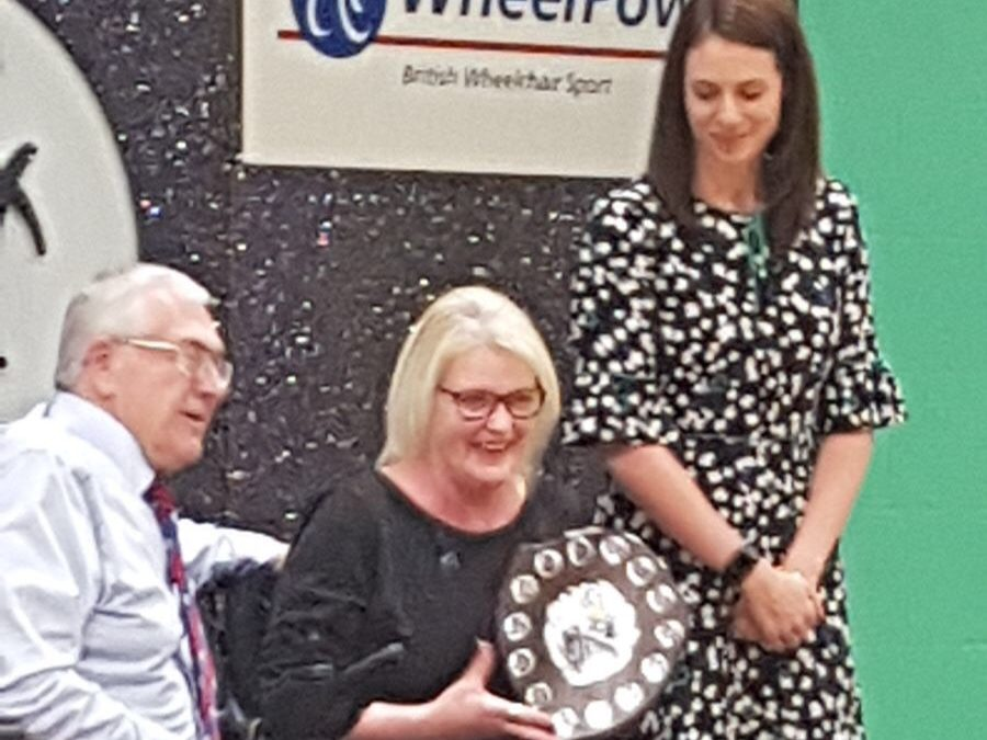 MOTIONrehab Client Wins Best Female Swimmer at the Wheelpower Inter Spinal Unit Games 2018!
