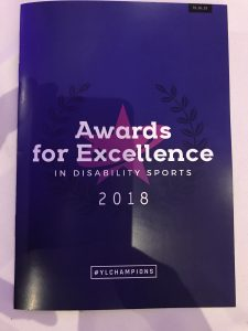 Awards for Excellence in Disability Sports