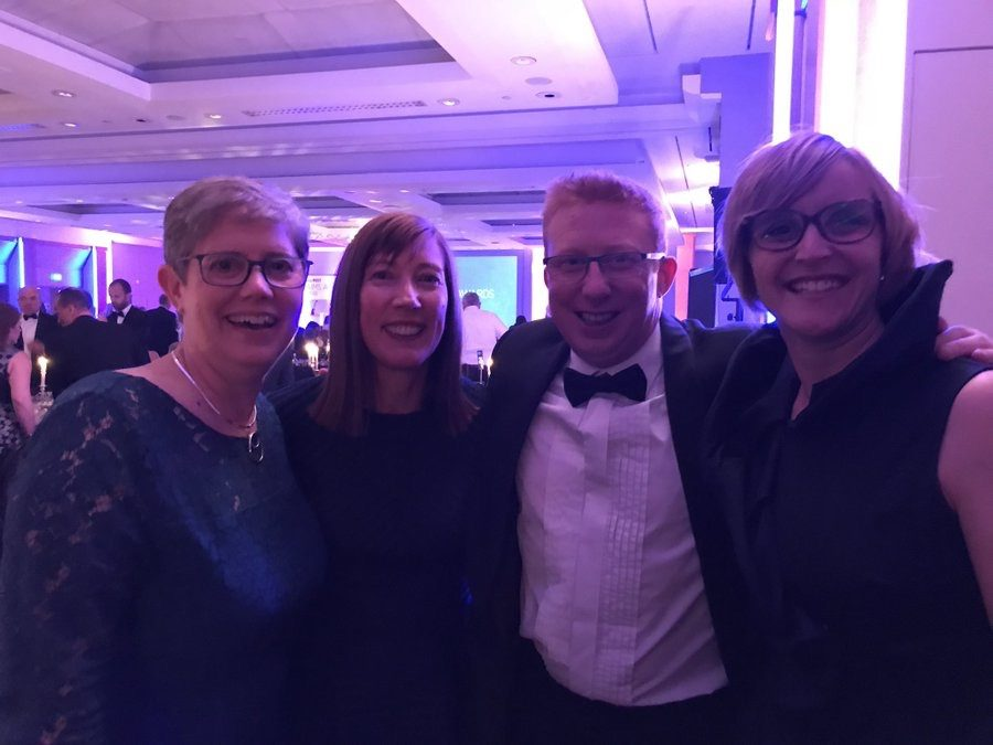 Clinical Director, Sarah Daniel attends Insurance Post Claim Awards 2018