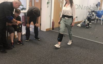 Rewalk Demonstrate the New Restore at MOTIONrehab's Intensive Neurological Rehabilitation Centre