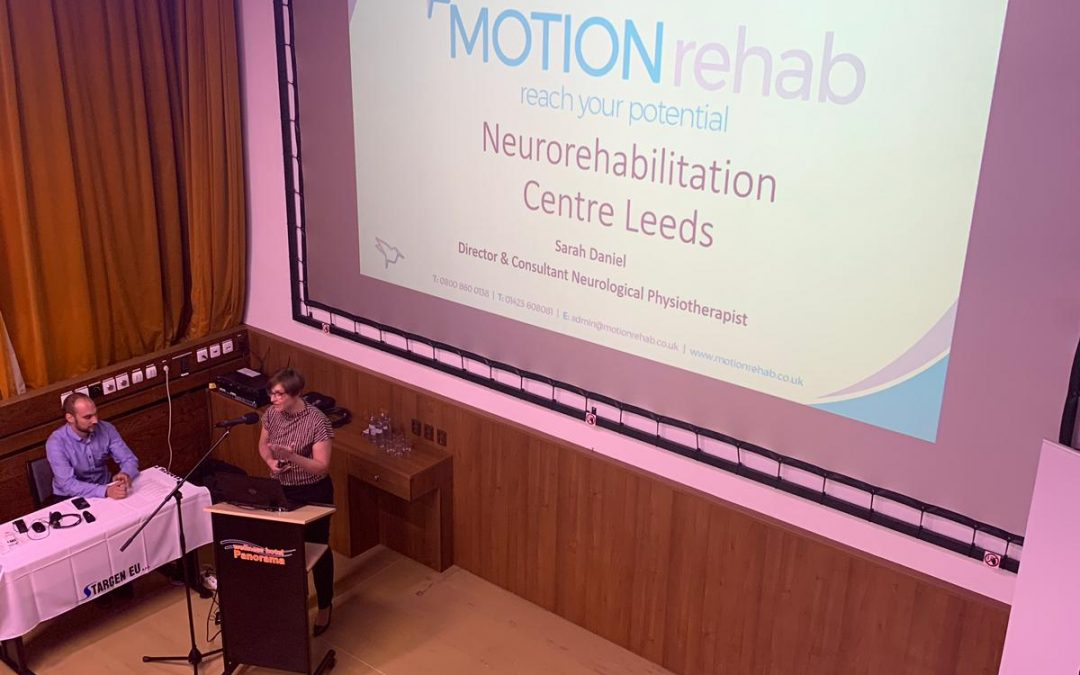 Clinical Director, Sarah Daniel Invited to Speak at the National Symposium on Robotic Assisted Rehabilitation in Brno, Czech Republic.