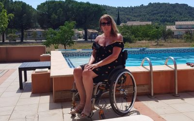 Tina's Story –  Hydrotherapy following Spinal Injury