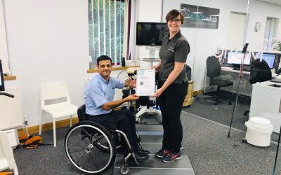 MOTIONrehab Receives Certification for Reference Centre Status from THERA-Trainer