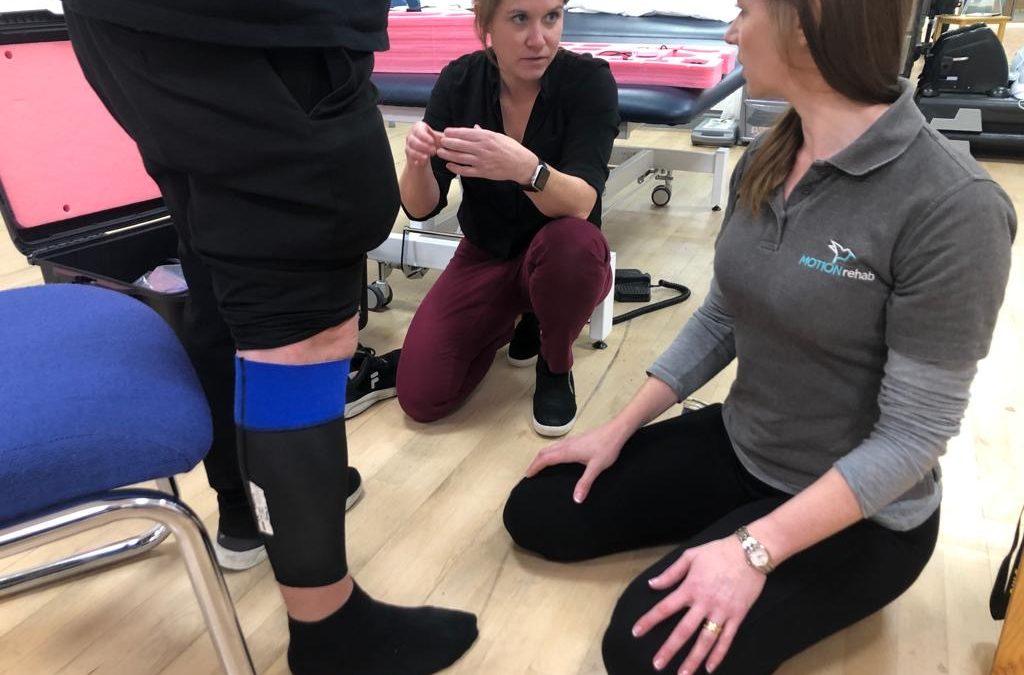 MOTIONrehab Partner ReWalk Conducting Patient Trials of the New ReStore Device at MOTIONrehab York and Hull Clinics