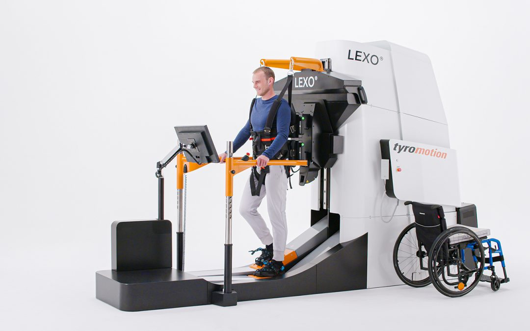 Another UK and World First for MOTIONrehab with LEXO.