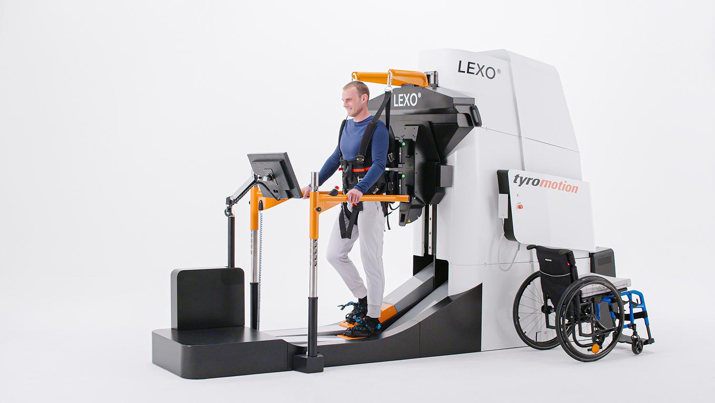 LEXO robotic gait trainer