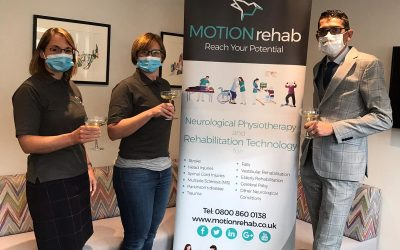 MOTIONrehab Announces Launch of Second Intensive Robotic Neurological Rehabilitation Centre in Hull