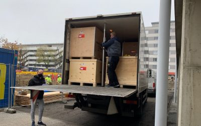 Tyromotion Devices Leave Graz and are on Their Way to Hull!