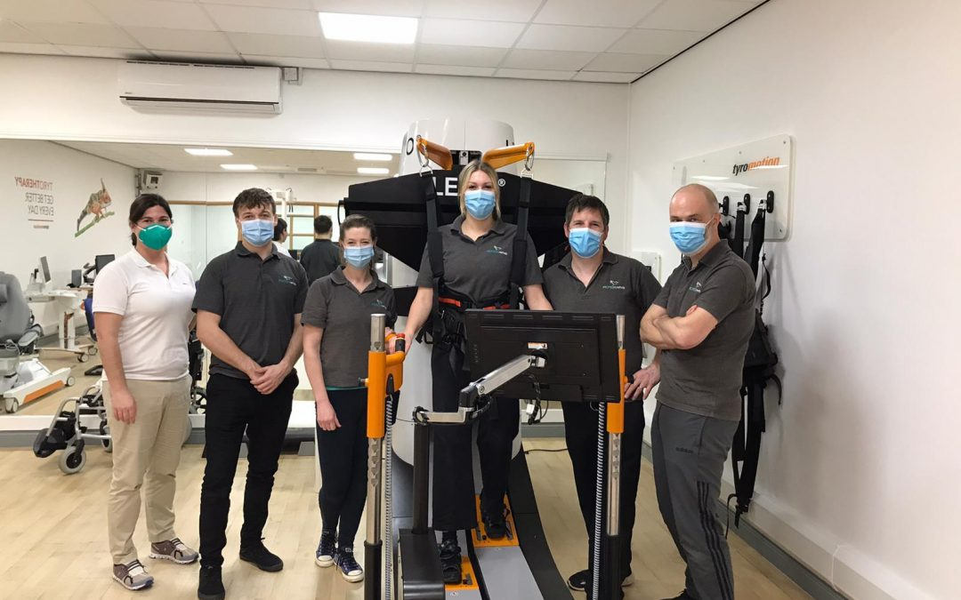 UK's First LEXO Robotic Gait Trainer Arrives in Hull