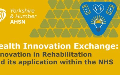 MOTIONrehab's Clinical Director, Sarah Daniel to Present at Health Innovation Exchange: Innovation in Rehabilitation and its Application within the NHS