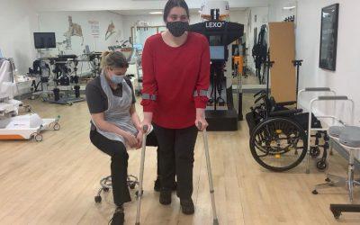 Emily's Diary Intensive Neurological Rehabilitation – Week 3