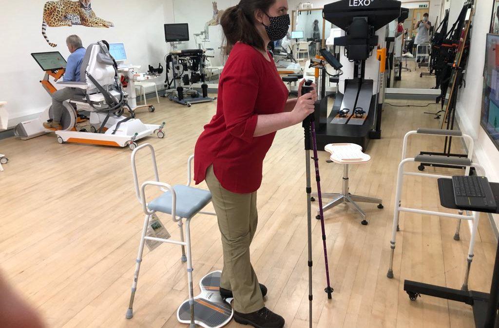 Emily's Intensive Neurological Rehabilitation Diary – Week 4